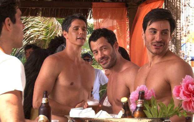 Malvino Salvador, Marcio Garcia, Ricardo Tozzi (Foto: Divulgação / Divulgação)