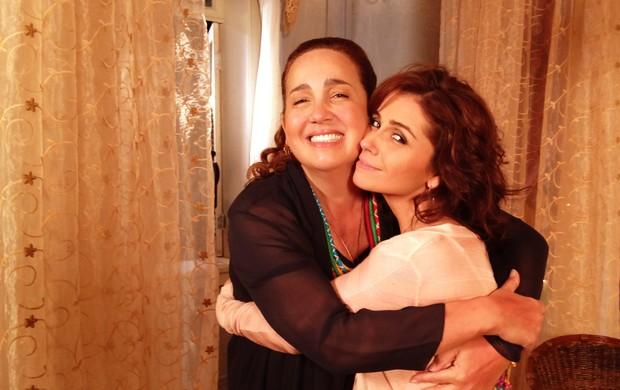 Claudia Jimenez e Giovanna Antonelli (Foto: Divulgação)