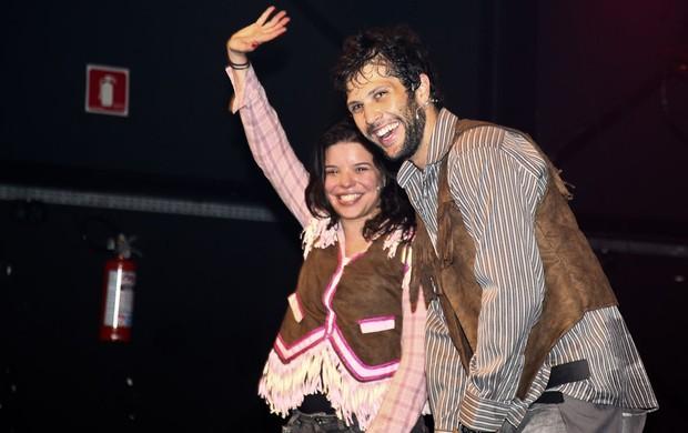Gustavo Leão e Pitty Webo (Foto: Manuela Scarpa / PhotoRioNews)
