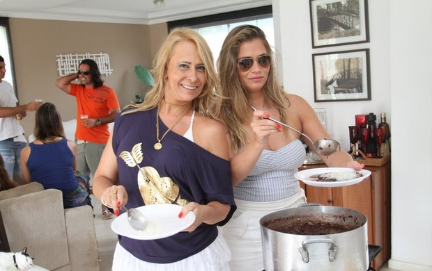 Claudia Sathler e Fani Pacheco (Foto: Anderson Borde/ Divulgação)