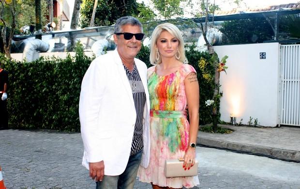 Marcos Paulo e Antonia Fontenelle (Foto: Henrique Oliveira/PhotoRio News)