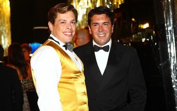 Bruno Chateaubriand e André Ramos (Foto: Iwi Onodera/EGO)