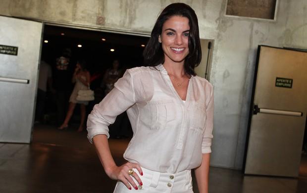 Atriz Luli Miller, namorada do ator Marco Ricca (Foto: Manuela Scarpa/Photo Rio News)