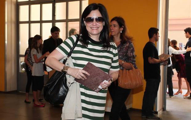 Flavia Soares, ex-esposa de Jô Soares (Foto: Manuela Scarpa/Photo Rio News)