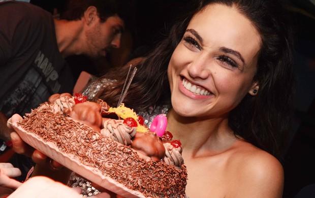 Debora Nascimento na festa A favorita (Foto: Ari Kaye/Divulgação)