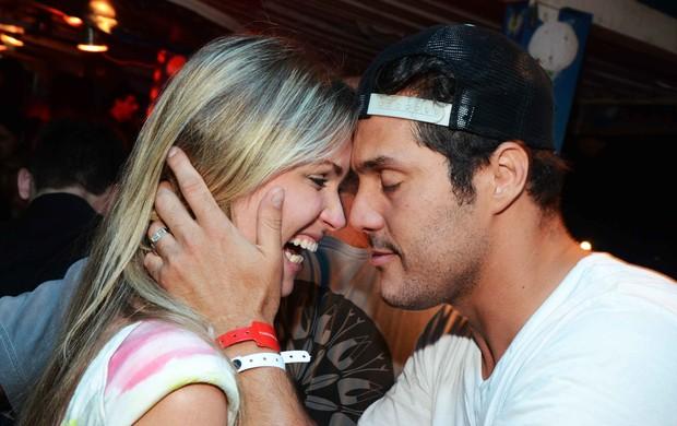 Suzana Werner e Júlio Cesar no Baile da Favorita (Foto: Ari Kaye/Divulgação)