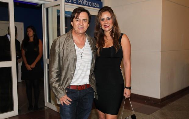 Chitãozinho e a mulher, Marcia, no show de Taylor Swift (Foto: Manuela Scarpa / Foto Rio News)
