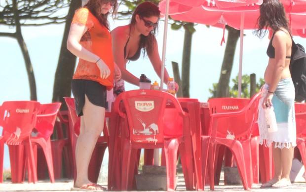 Carolinie Figueiredo, Samara Felippo e Priscila Fantin (Foto: Fábio Martins/Ag. News)