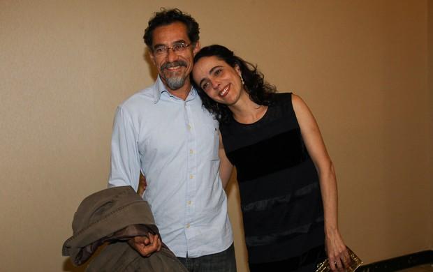 Chico Dias e a mulher, Silvia Buarque de Holanda (Foto: Manuela Scarpa / Foto Rio News)
