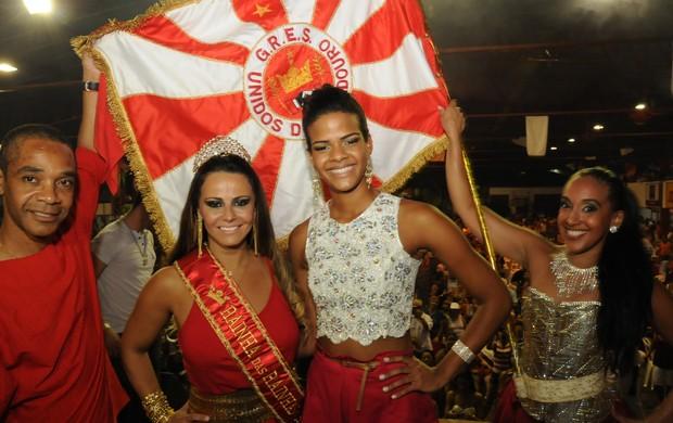 Viviane Araujo na Viradouro (Foto: Divulgação)