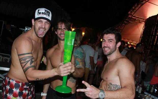 Ex-BBBs curtem festa na Costa do Sauípe (Foto: Raphael Mesquita/Divulgação)