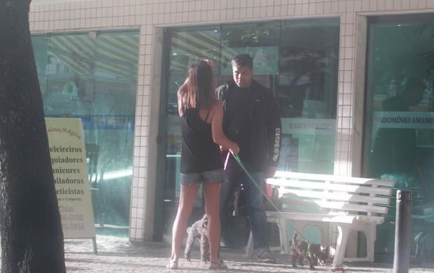 Mauricio Mattar com ex-mulher (Foto: Dilson Silva / Agnews)