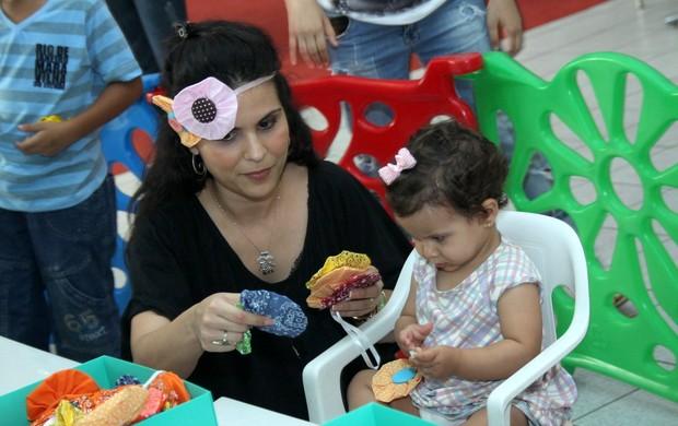 Aline Barros (Foto: Fotos Graça Paes/Foto Rio News)