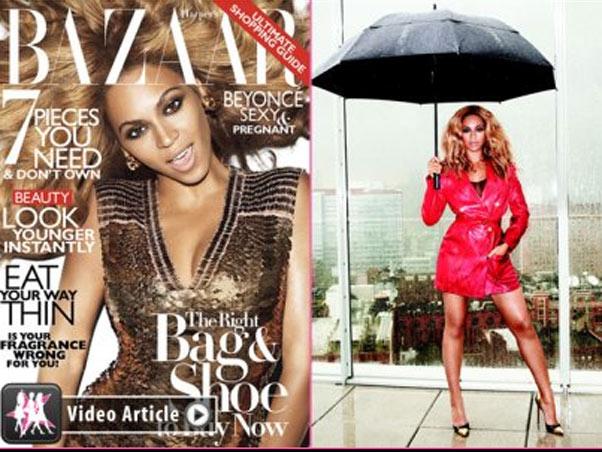 Beyoncé (Foto: Reprodução / Harper's Bazaar's)