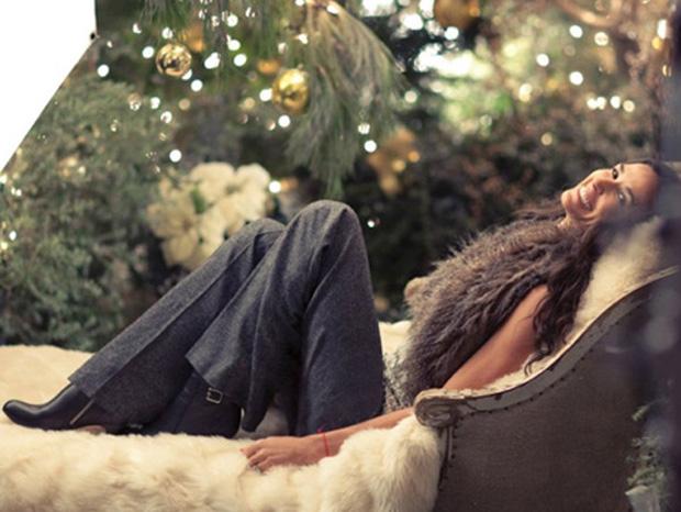 Demi Moore em campanha para a marca Ann Taylor (Foto: Divulgação)