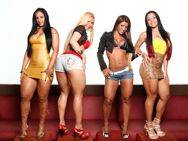 Priscila Silva, Rafaela Felizardo, Aline Amorim e Alinda Araújo (Foto: Marcos Serra Lima/EGO)