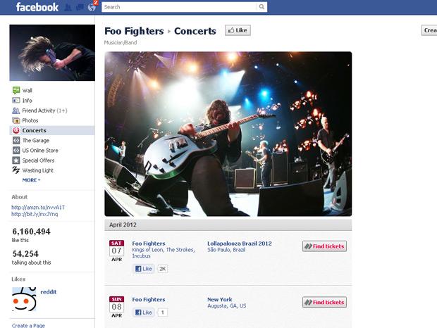 Foo Fighters (Foto: Facebook/Reprodução)