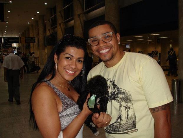 Moranguinho e Naldo (Foto: Leotty Jr/AgNews)