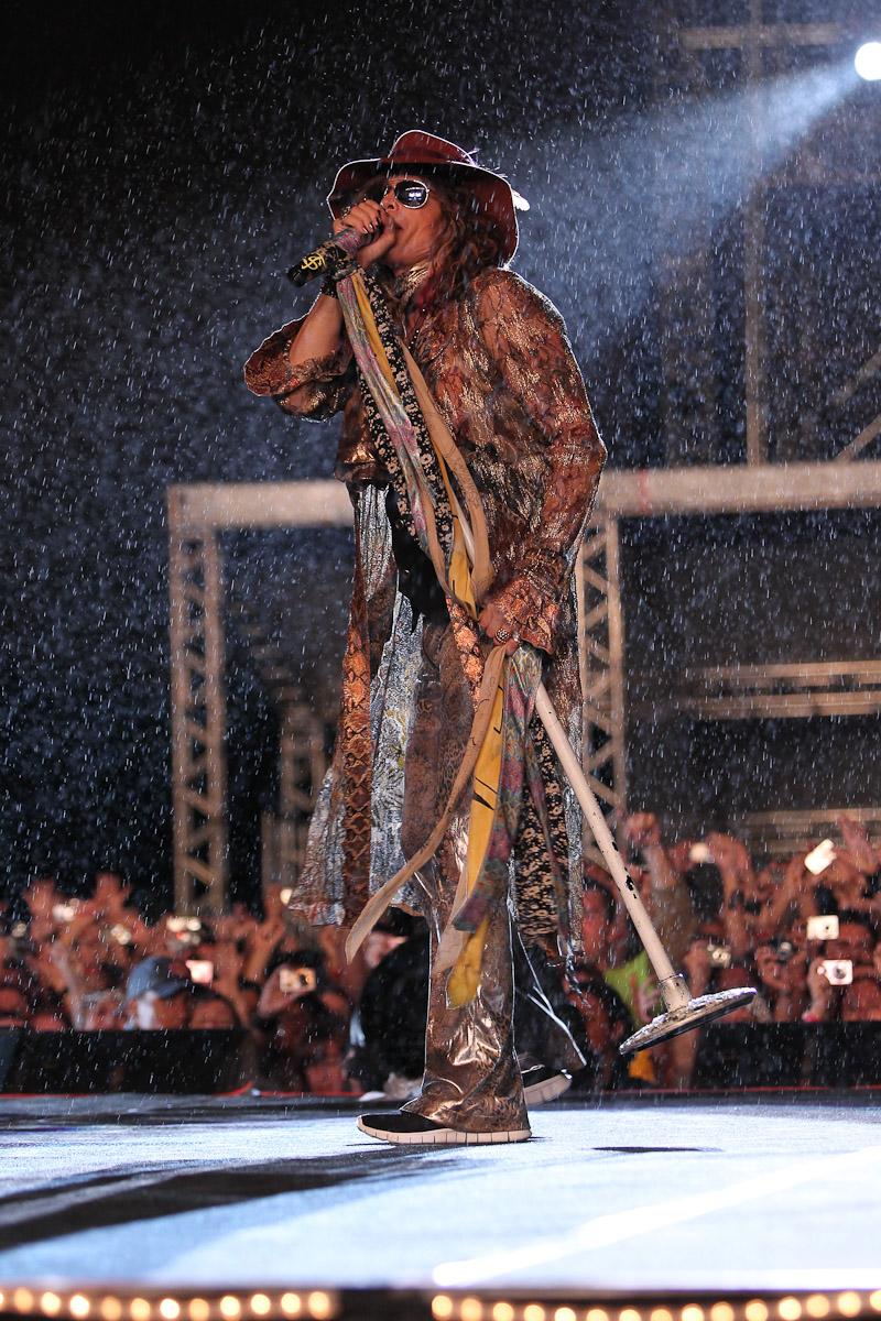 O vocalista Steven Tyler