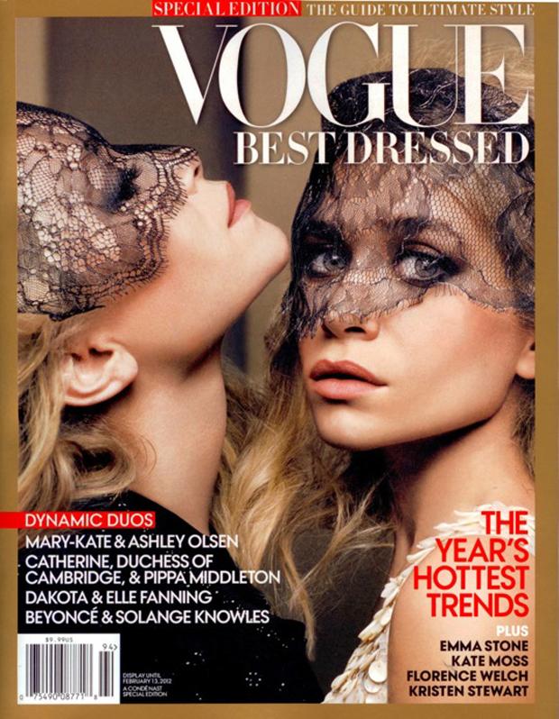 Mary-Kate e Ashley Olsen (Foto: Reprodução / Vogue)