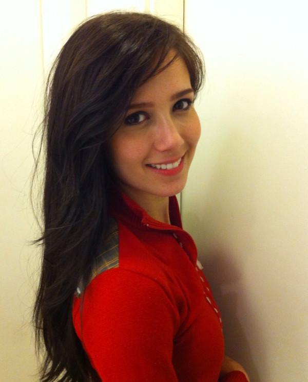 Marjorie Estiano com cabelo novo (Foto: Twitter / Reprodução)