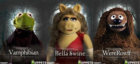 """Paródia de """"Crepúsculo"""" feita por Os Muppets (Foto: Divulgação)"""