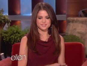 Selena Gomez fala sobre suposto filho de Bieber em programa de TV (Foto: Reprodução)