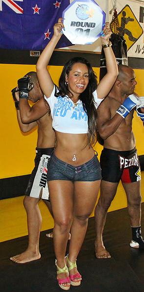 Rainha Raíssa Oliveira vai estrear como ring-girl no MMA da Beija-Flor (Foto: Divulgação/ Divulgação)