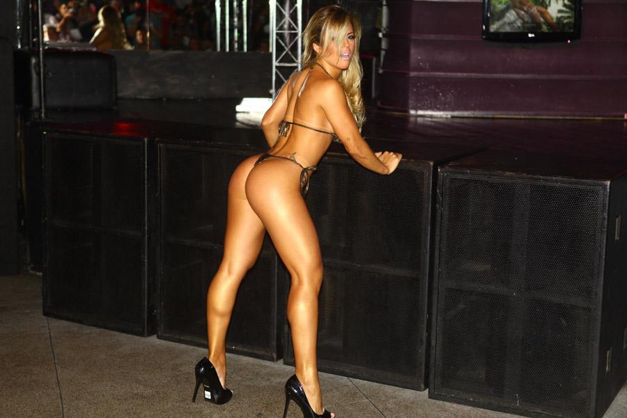 Eleita o bumbum mais bonito do Brasil, Rosana Ferreira já assinou contrato para posar nua