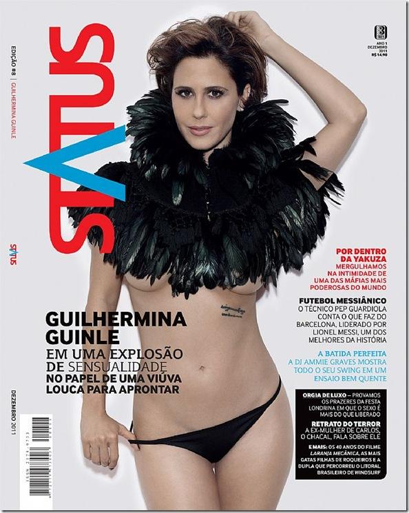 Guilhermina Guinle posa sensual para revista (Foto: Reprodução)