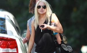 Lindsay Lohan no Havaí (destaque) (Foto: Grosby Group)