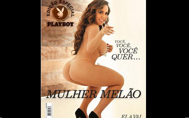 Renata Frisson mostrou em revista o 'melão' que a tornou famosa