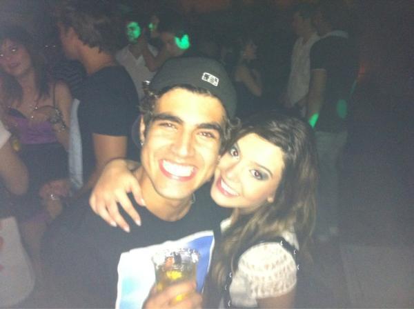 Caio Castro e Giovanna Lancellotti (Foto: Reprodução/Twitter)