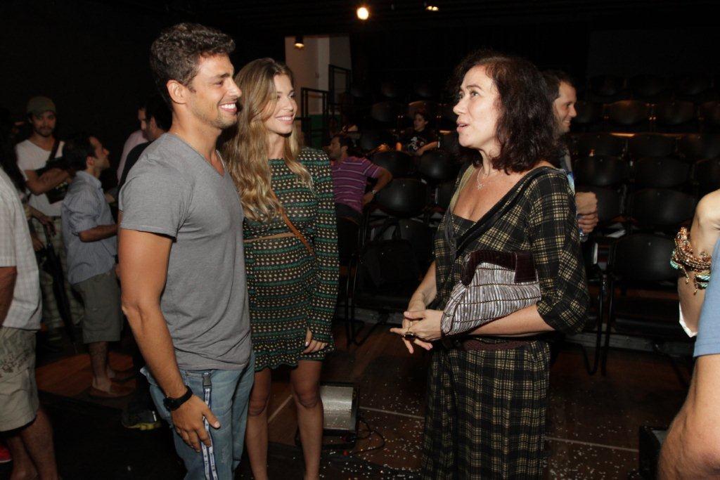 Cauã Reymond, Grazi Massafera e Lilia Cabral