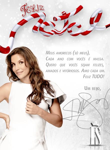 Ivete deseja feliz natal a seguidores no Twitter (Foto: Reprodução/Twitter)