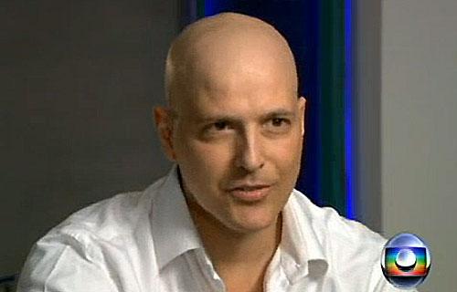 Gianecchini em entrevista para o Fantástico (Foto: Reprodução/TV Globo)