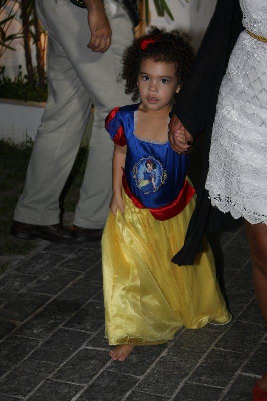 Maria Sophia, filha de Ronaldo, em sua festa de aniversário em São Paulo (Foto: Danilo Carvalho/ Ag. News)