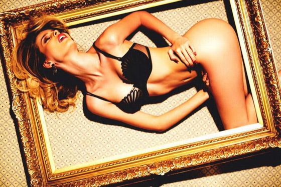 Yasmin Brunet posa para revista 'Lovecat' (Foto: Aram Bedrossian)