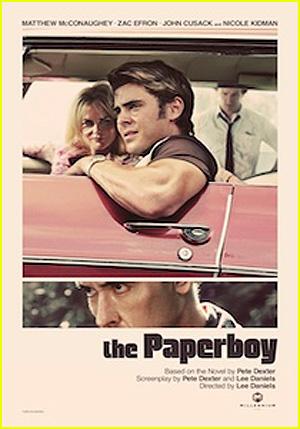 Nicole Kidman e Zac Efron: pôster de 'The Paperboy' (Foto: Reprodução /  Reprodução)