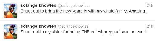 Solange Knowles, irmã de Beyoncé (Foto: Reprodução/Twitter)