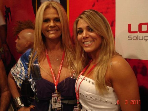 Fabiana Teixeira e Monique Evans (Foto: Reprodução/Facebook)
