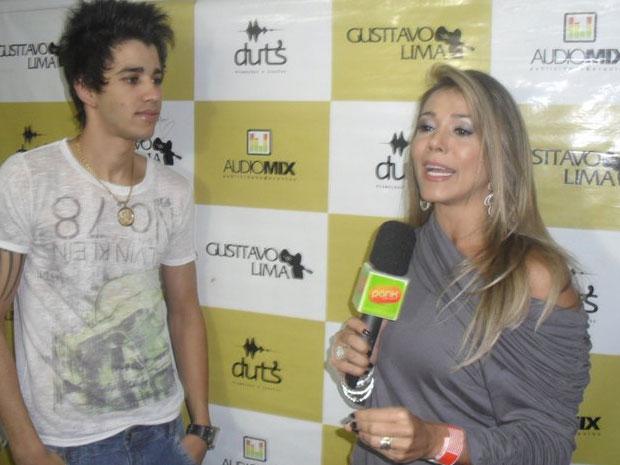 Fabiana Teixeira e Gusttavo Lima (Foto: Reprodução/Facebook)