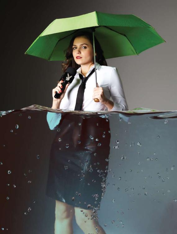 """Mônica Iozzi, do """"CQC"""" (Foto: Divulgação / Playboy)"""