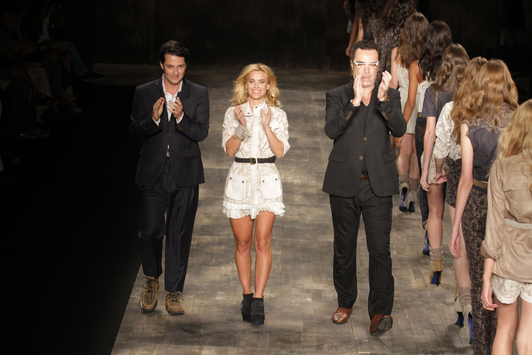 Desfile da grife TNG no Fashion Rio