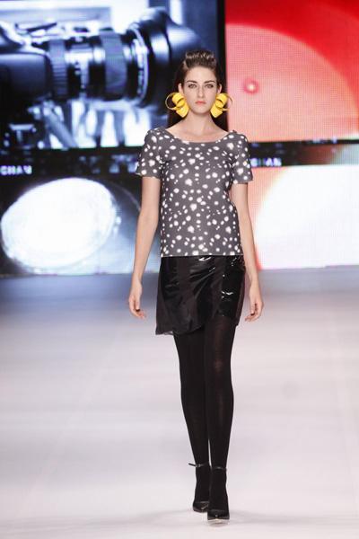 A grife  Afghan apresentou sua nova coleção no Fashion Business nesta quinta-feira, 12.