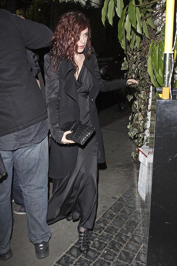 Rummer Willis, filha de Demi Moore e Bruce Willis, no Chateau Marmont, em Los Angeles (Foto: Honopix)