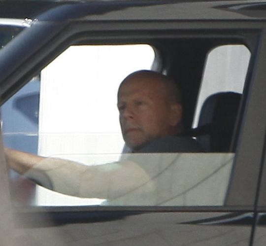 Bruce Willis X17 (Foto: Agência X17)