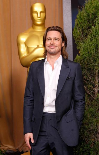 """Brad Pitt, indicado na categoria melhor ator pelo filme """"O homem que mudou o jogo"""""""