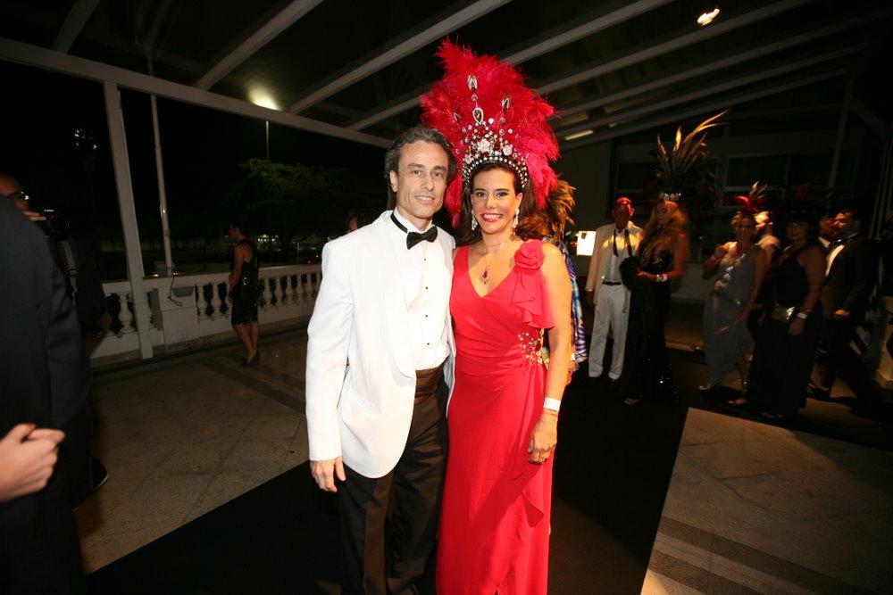 Narcisa Tamborendeguy e Guilherme Fiuza