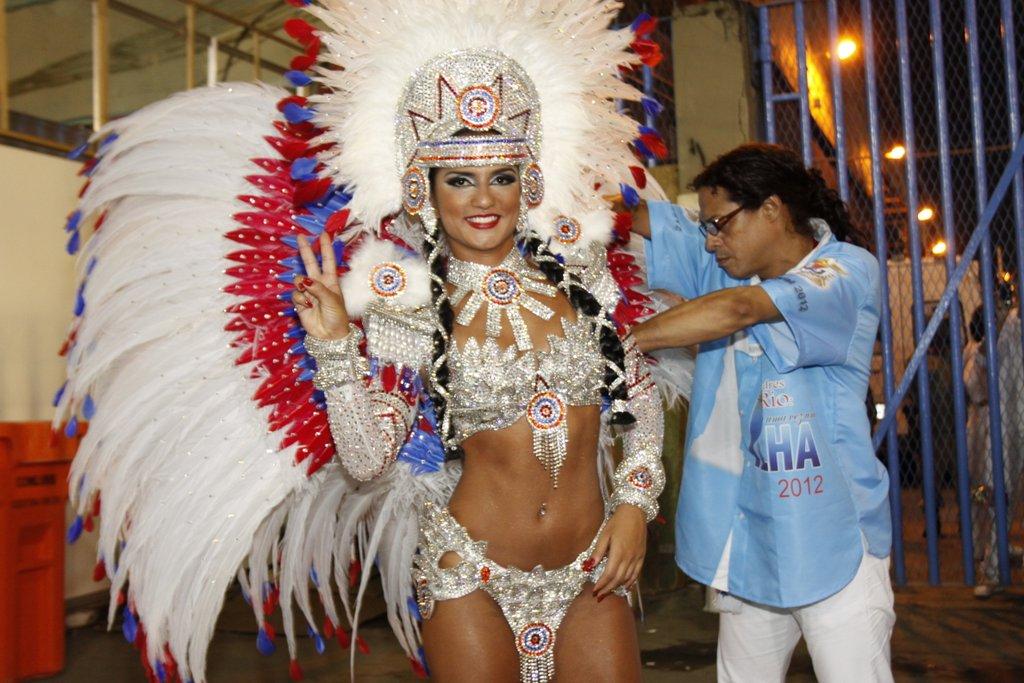 Bruna Bruno, da União da Ilha